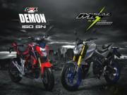 Thế giới xe - Nên mua GPX Demon 150 GN hay Yamaha M-Slaz?