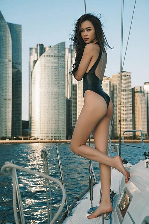 """""""Phát hờn"""" với bộ sưu tập bikini của chân dài Vũ Ngọc Anh - 2"""
