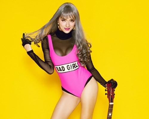 """Dàn mỹ nữ 9X """"thiêu đốt"""" ánh nhìn với bodysuit bó sát - 11"""