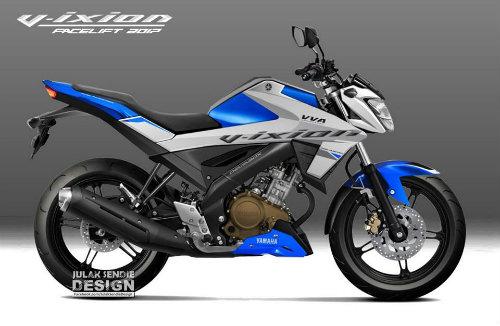 Hình dung trước hình hài 2017 Yamaha V-Ixion - 1