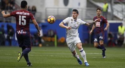 Chi tiết Eibar - Real Madrid: Dễ hơn dự tính (KT) - 4