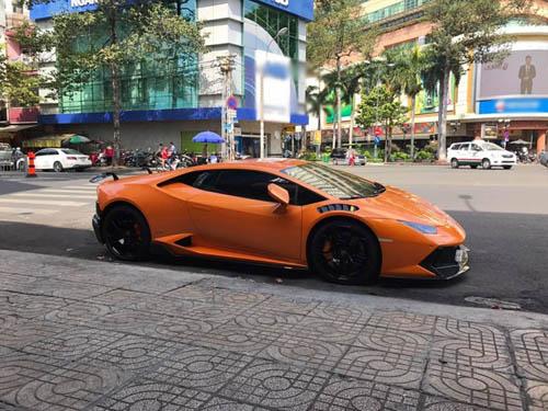 Cận cảnh Lamborghini Huracan LP610-4 độ Novara đầu tiên tại VN - 2