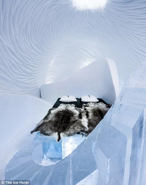 Lạnh tê tái trong khách sạn băng giá ở Thụy Điển - 2