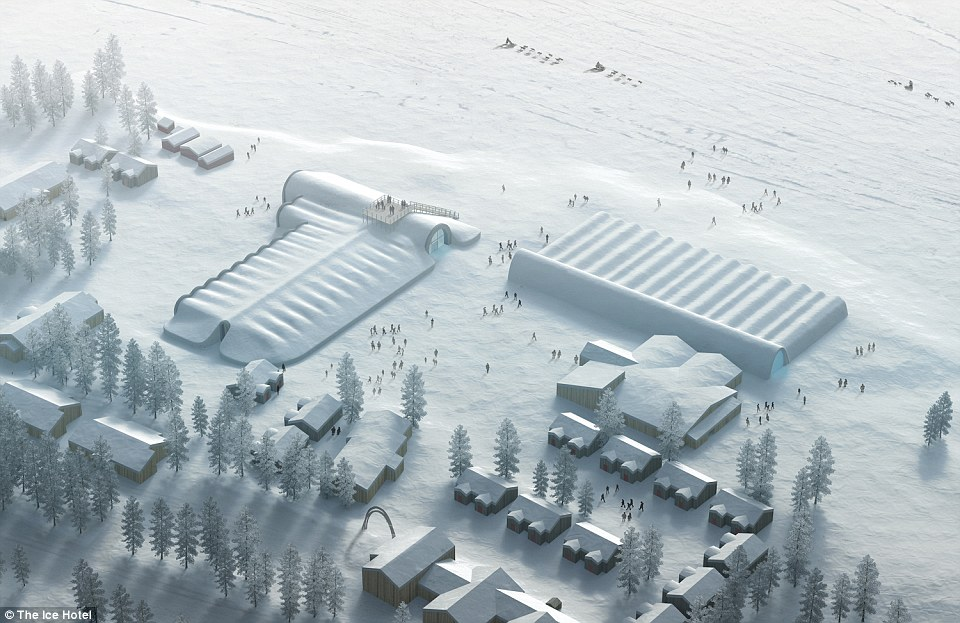 Lạnh tê tái trong khách sạn băng giá ở Thụy Điển - 4