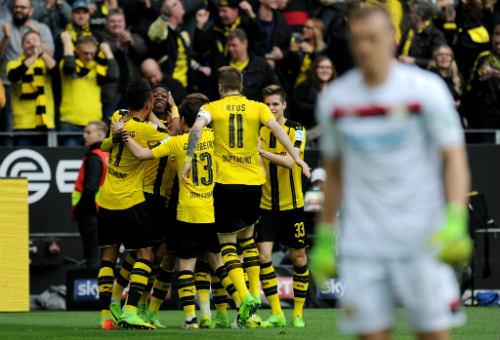 Dortmund – Leverkusen: Bùng nổ trong hiệp 2 - 1