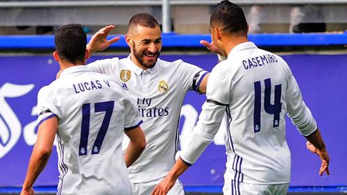 Eibar - Real Madrid: Bữa tiệc tấn công biến ảo - 1