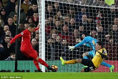 Chi tiết Liverpool - Arsenal: Đòn phản công sắc lẹm (KT) - 4