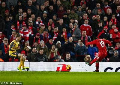 Chi tiết Liverpool - Arsenal: Đòn phản công sắc lẹm (KT) - 6
