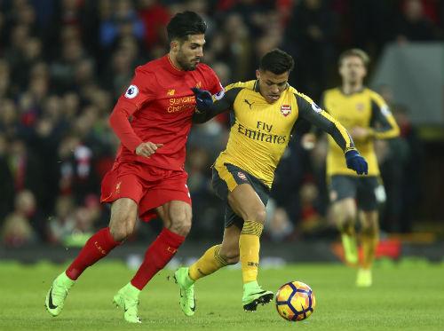 """Góc chiến thuật Liverpool – Arsenal: Wenger """"sai 1 li, đi 1 dặm"""" - 2"""