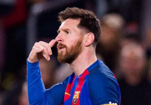 """Messi tỏa sáng rực rỡ, ăn mừng ẩn ý """"nhắc nhở"""" Barca - 1"""