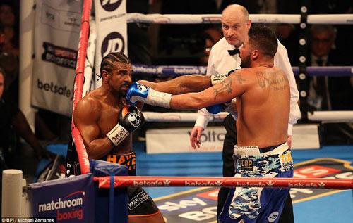 Boxing: David Haye thua tâm phục khẩu phục đàn em - 1