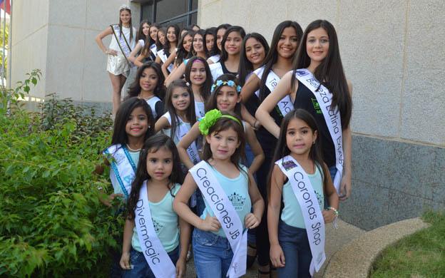 Choáng trước màn diễn áo tắm của các bé gái Venezuela - 8