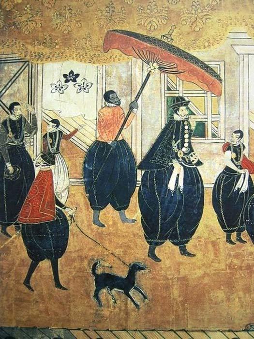 Samurai da đen kỳ lạ nhất lịch sử Nhật Bản - 1