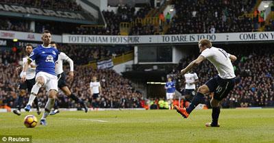 Chi tiết Tottenham - Everton: Chiến thắng nghẹt thở (KT) - 5