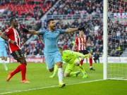 Bóng đá - Chi tiết Sunderland - Man City: Khách mừng khôn xiết (KT)