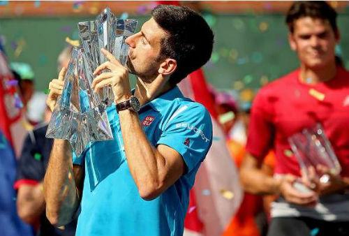"""Tennis 24/7: Federer và """"Tam hùng"""" tụ hội Indian Wells - 2"""