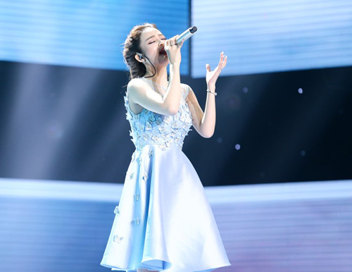 Thí sinh The Voice nức nở hát tặng mẹ bị ung thư - 1