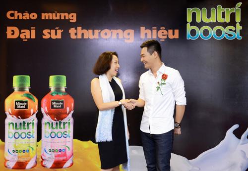 Phan Anh trở thành đại sứ thương hiệu sữa trái cây Nutriboost - 2