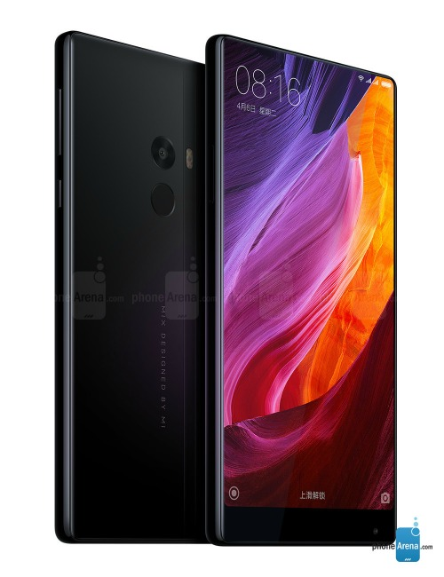Chiêm ngưỡng smartphone có màn hình siêu lạ – Xiaomi mi MIX 2 - 1