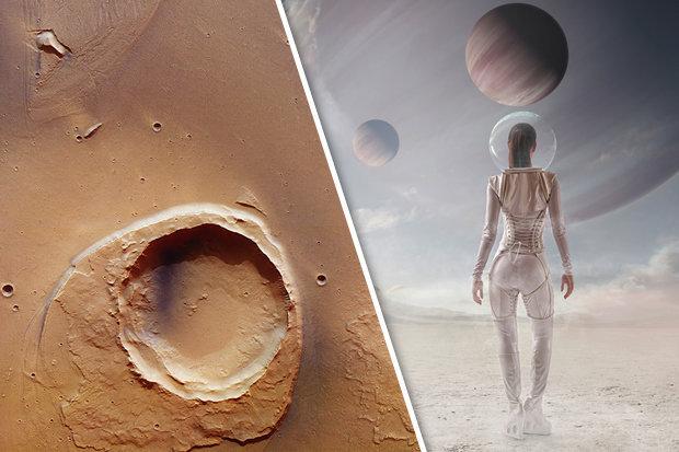 """Phát hiện bằng chứng """"đại hồng thủy"""" trên sao Hỏa - 1"""