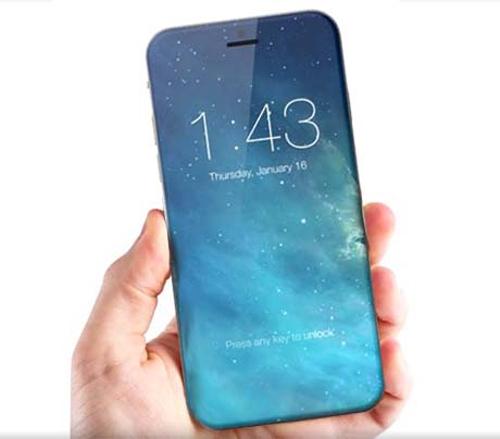 iPhone 8 sẽ trang bị màn hình OLED 5,8 inch - 1