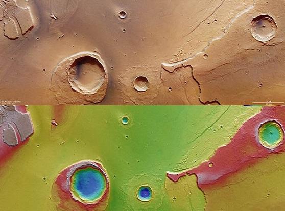 """Phát hiện bằng chứng """"đại hồng thủy"""" trên sao Hỏa - 3"""