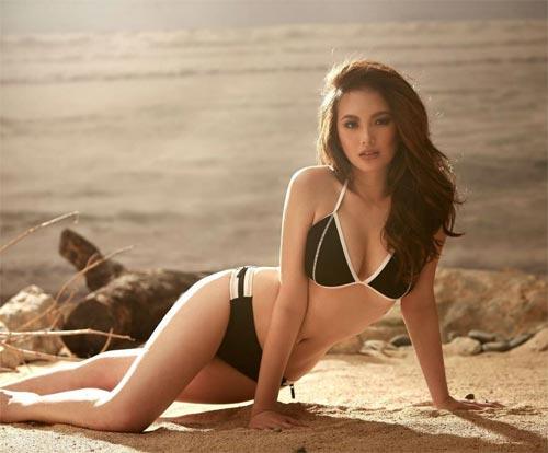 Nữ hoàng bikini Philippines đổ mồ hôi vẫn đẹp tuyệt trần - 7