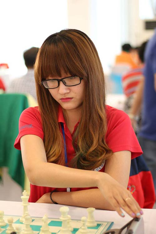 Hot girl cờ vua Việt Nam gây xôn xao làng cờ thế giới - 8
