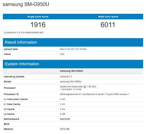 NÓNG: Lộ video Samsung Galaxy S8 và điểm hiệu năng trên Geekbench - 2