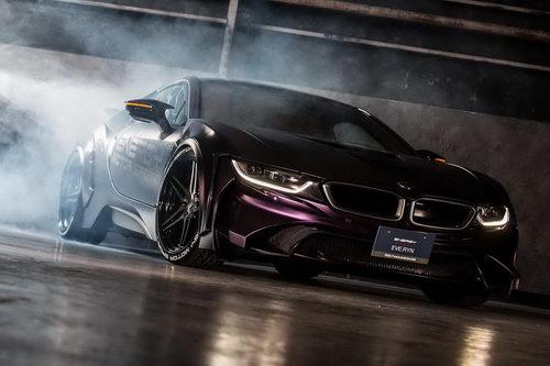 BMW i8 độ theo phong cách Người Dơi độc đáo - 2