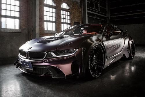 BMW i8 độ theo phong cách Người Dơi độc đáo - 5
