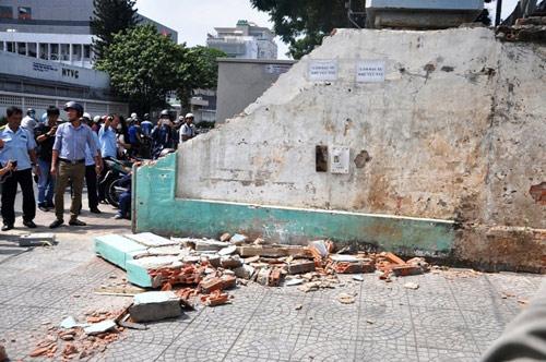 Clip: Ông Đoàn Ngọc Hải chỉ đạo phá tường gần tòa nhà Bộ Công thương - 8