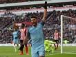 Man City trở lại top 3, Aguero đi vào lịch sử NHA