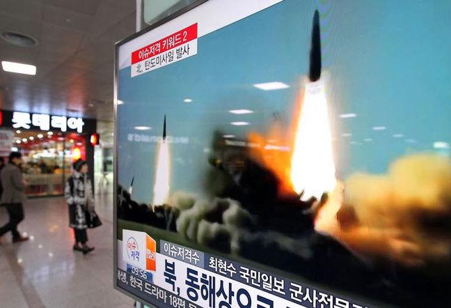 Triều Tiên phóng loạt tên lửa nhằm vào căn cứ quân sự Mỹ - 2