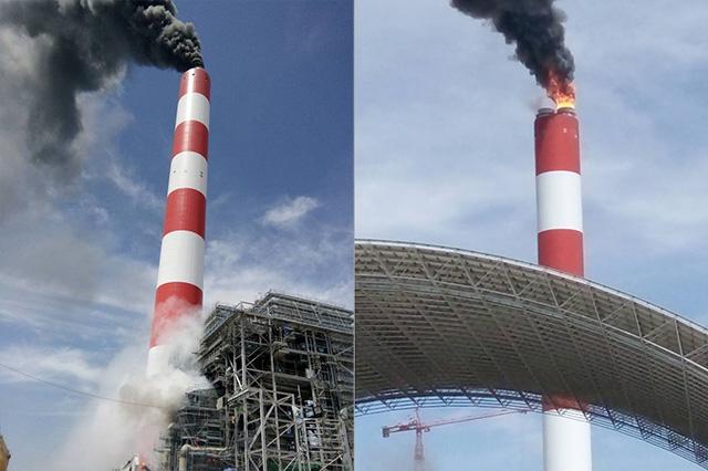 """Yêu cầu báo cáo """"khẩn"""" vụ nổ ở nhà máy Nhiệt điện Vĩnh Tân 4 - 1"""