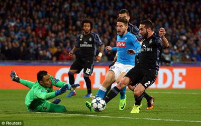 Chi tiết Napoli - Real Madrid: Morata kết liễu (KT) - 7
