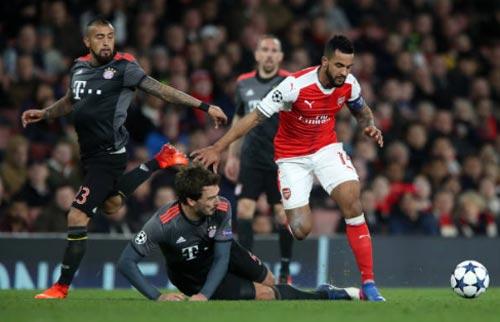 Góc chiến thuật Arsenal - Bayern: Cơn ác mộng phản công - 1