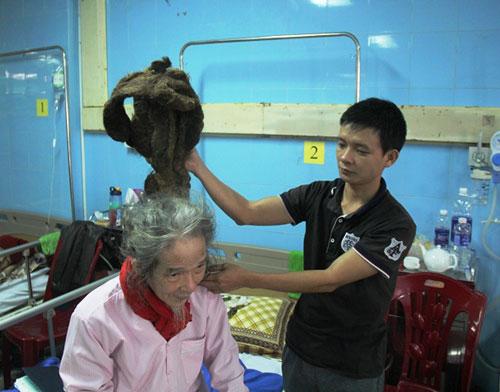 Cụ ông 76 tuổi với mái tóc đặc biệt hơn 30 năm chưa cắt - 2