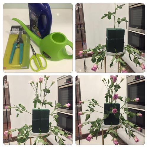 Học bà mẹ Hà thành cắm hoa cực đẹp cho ngày 8/3 - 2