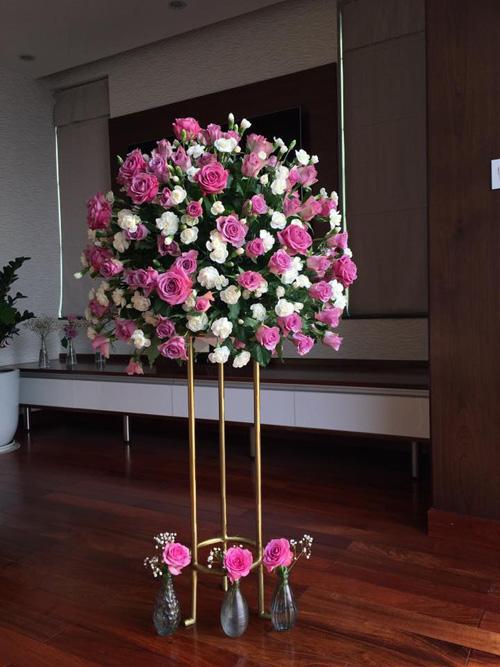Học bà mẹ Hà thành cắm hoa cực đẹp cho ngày 8/3 - 5