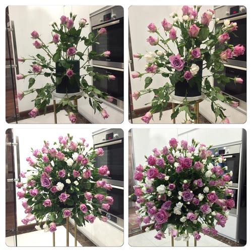 Học bà mẹ Hà thành cắm hoa cực đẹp cho ngày 8/3 - 3