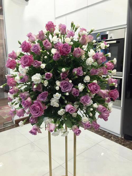 Học bà mẹ Hà thành cắm hoa cực đẹp cho ngày 8/3 - 4