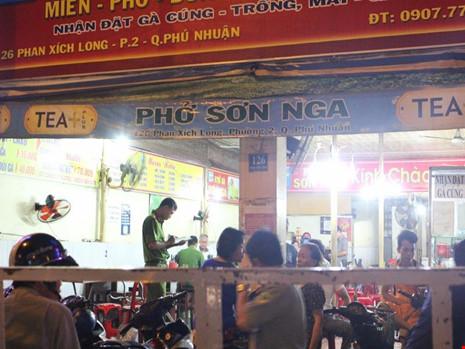 Nghi can chém CA tại quán phở là 'đại ca' ở Phú Nhuận - 1