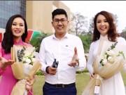 Bạn trẻ - Cuộc sống - Clip dàn MC trai tài gái sắc của VTV hát tặng chị em ngày 8/3