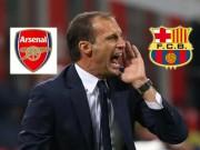 """Bóng đá - HLV Allegri """"chê"""" Arsenal, đến Barca làm thầy Messi"""