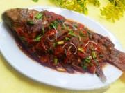 Ẩm thực - Cá rô phi sốt cà chua ngon cơm trong mọi thời tiết