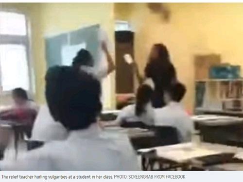 Singapore: Giáo viên bị đuổi việc vì chửi học sinh - 1