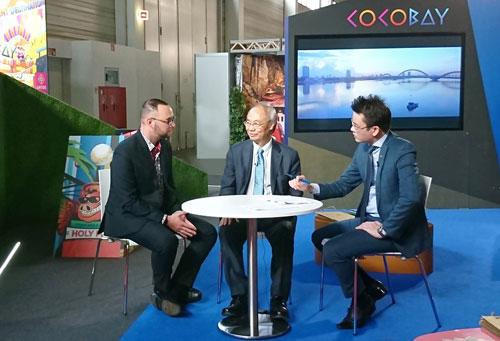 Điểm đến giải trí của thế giới Cocobay đã có mặt tại ITB Berlin - 2