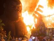 """Sân khấu """"Kong"""" 1 tỷ cháy rụi, sao Việt hoảng hốt, BTC nói gì?"""