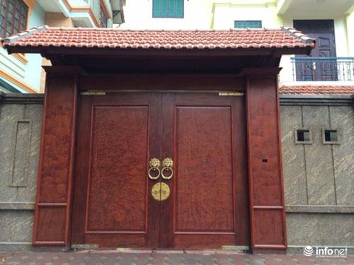 Chiêm ngưỡng cổng biệt thự, tường rào cầu kỳ của các đại gia HN - 7